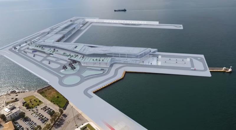 Το λιμάνι του Πειραιά «μεγαλώνει»