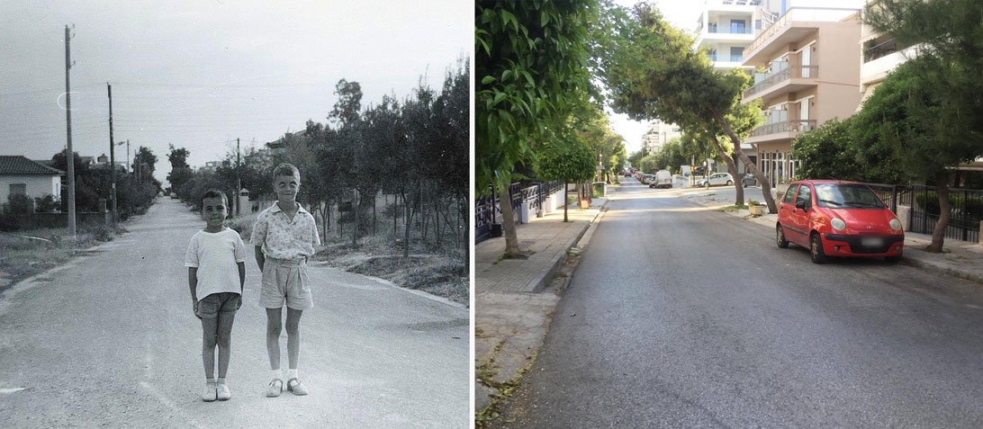 Ίδιο σημείο με διαφορά 57 χρόνων