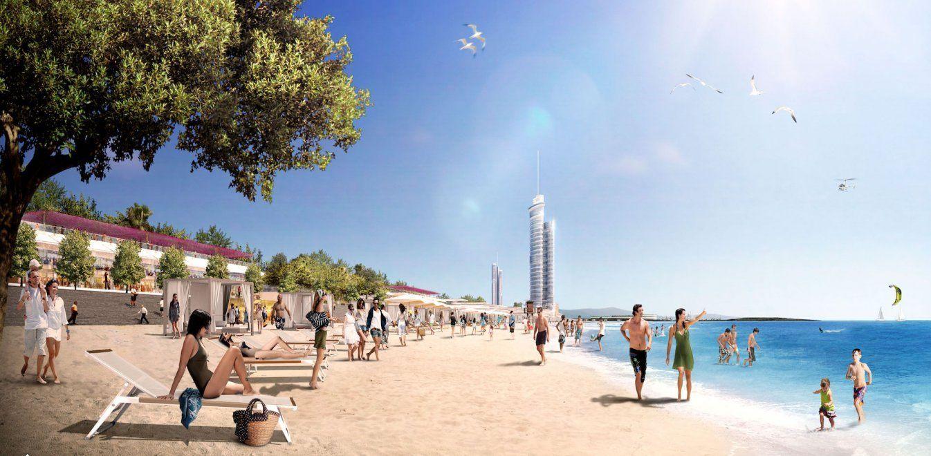 Ελληνικό: Πως θα είναι η νέα παραλία ελεύθερης πρόσβασης μήκους 1χλμ