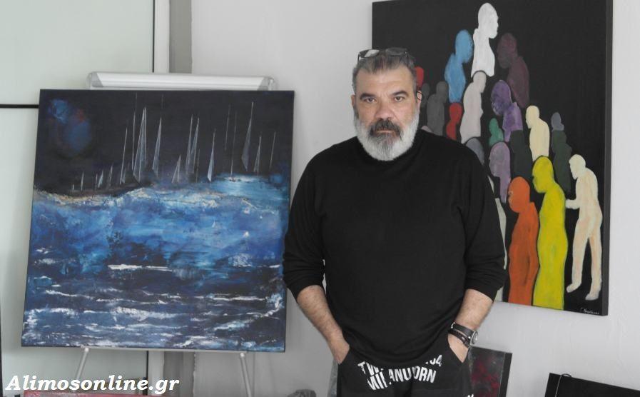 ATELIER 6: Ο νέος χώρος του καλλιτέχνη Γιώργου Μπαρδάκα στον Άλιμο