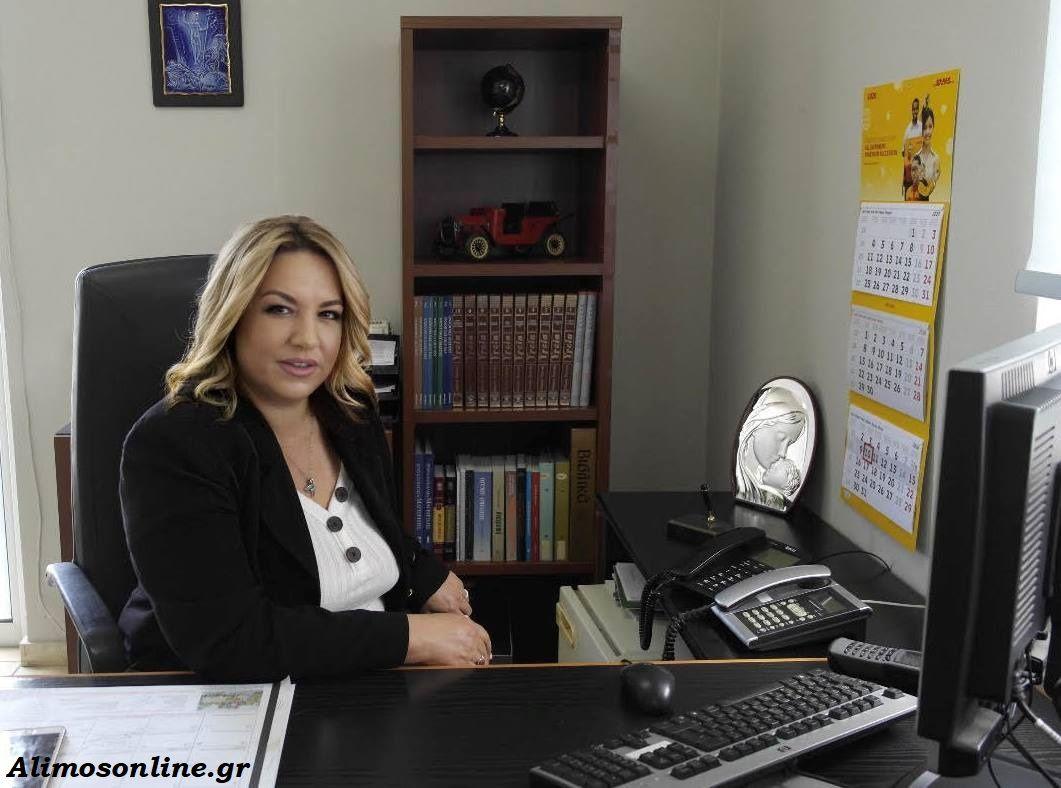 Συνέντευξη με την Άννα Μιχαηλίδου, την νέα Διοικητή του Αστ. Τμήματος Αλίμου