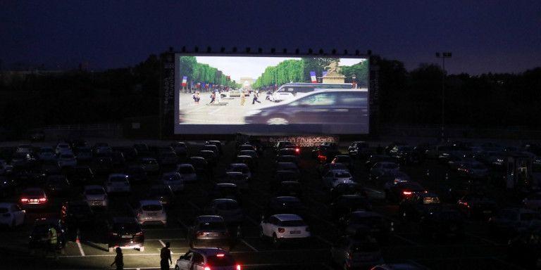 Η ταινία «Μεσάνυχτα στο Παρίσι» ήταν η πρώτη drive-in κινηματογραφική προβολή στη Γλυφάδα