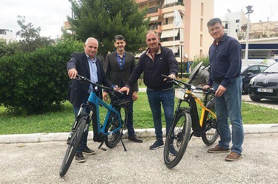 Ηλεκτροκίνητα ποδήλατα θα χρησιμοποιεί η Δημοτική Αστυνομία στον Δήμο Ελληνικού –Αργυρούπολης