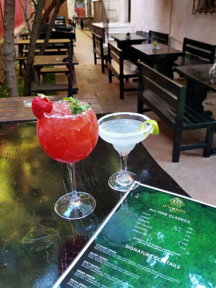 Τα νέα cocktails της O'Canto Pub είναι ακόμη ένας λόγος να την επισκεφτείς