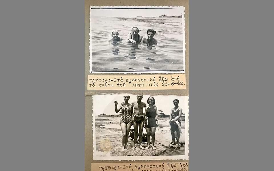 Στα Δικηγορικά της Γλυφάδας, μια μέρα του 1942