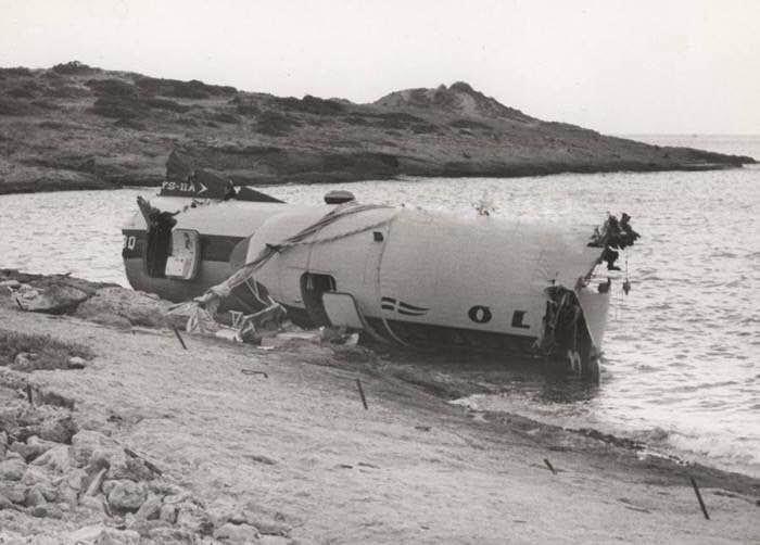 Οκτώβριος 1972: Η αεροπορική τραγωδία στη θαλάσσια περιοχή της Βούλας
