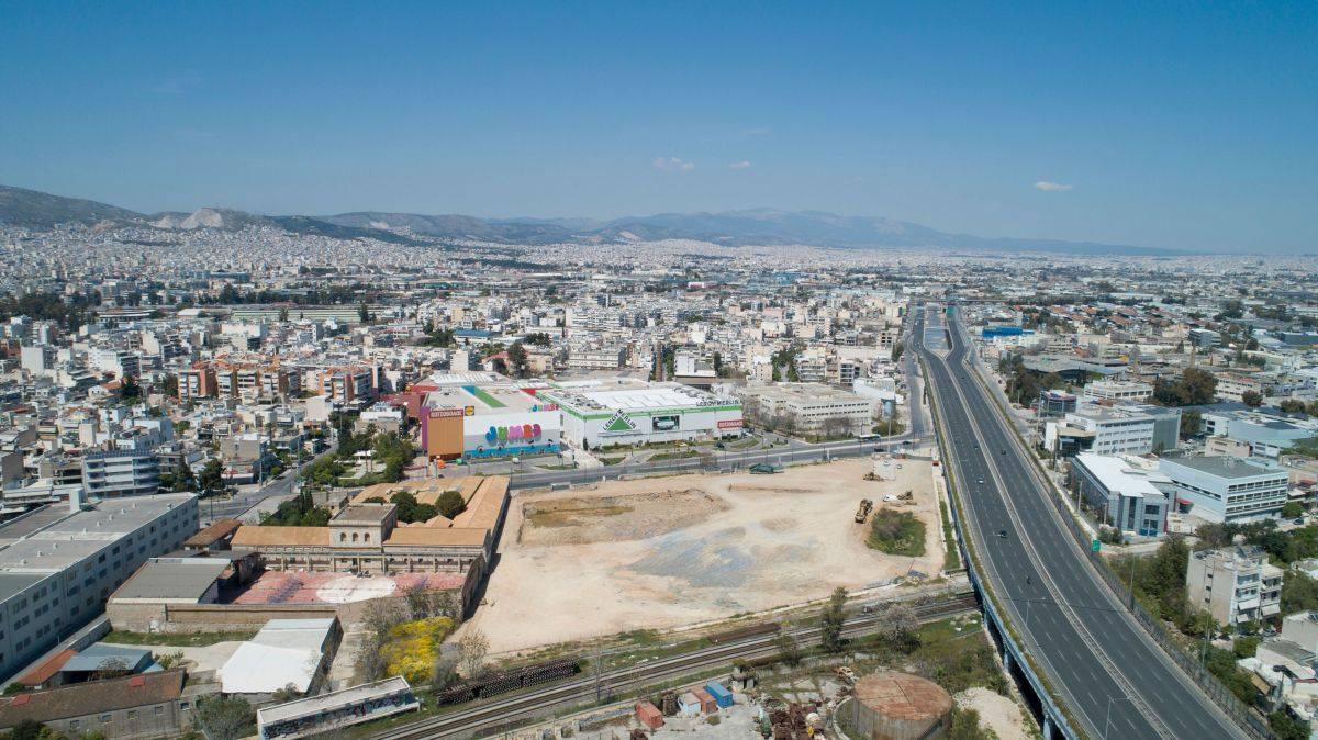 Ξεκίνησε η κατασκευή του νέου εμπορικού πάρκου στο Φάληρο