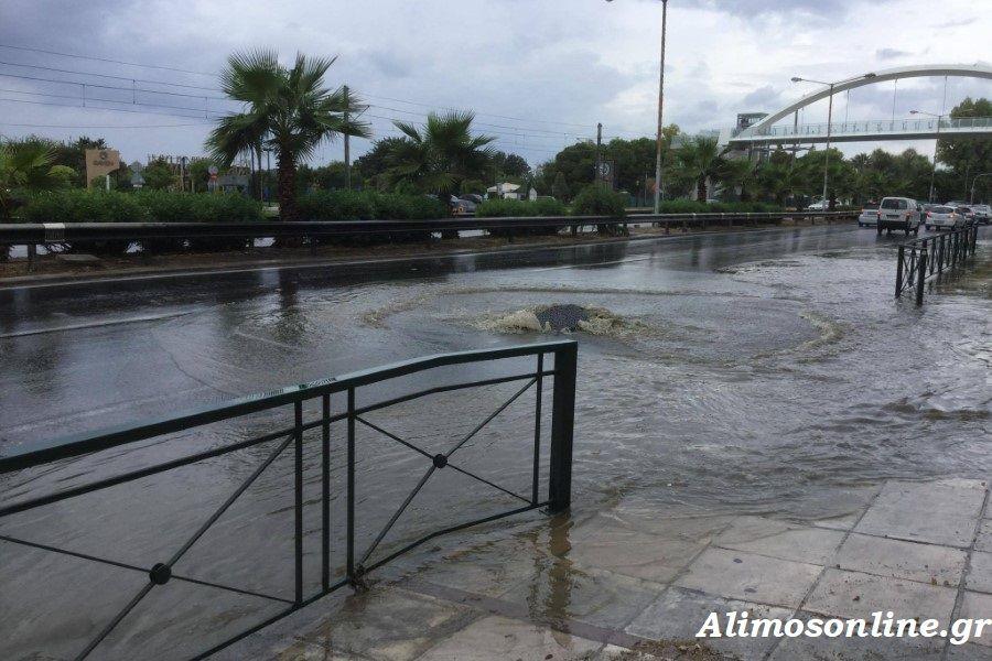 Δρομολογούνται αντιπλημμυρικά έργα στην οδό Κανάρη