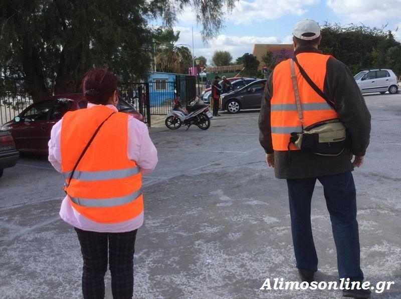 Εντατικοί έλεγχοι στον Άλιμο για μάσκες και τήρηση των αποστάσεων