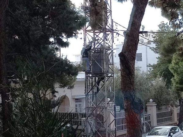 Φροντίδα και συντήρηση στονυποσταθμό της ΔΕΗ στην οδό Θουκυδίδου