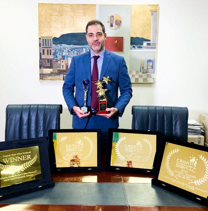Οκτώ βραβεία απέσπασε συνολικά το φιλμ «Alimos: Greek Riviera's Blue Diamond»