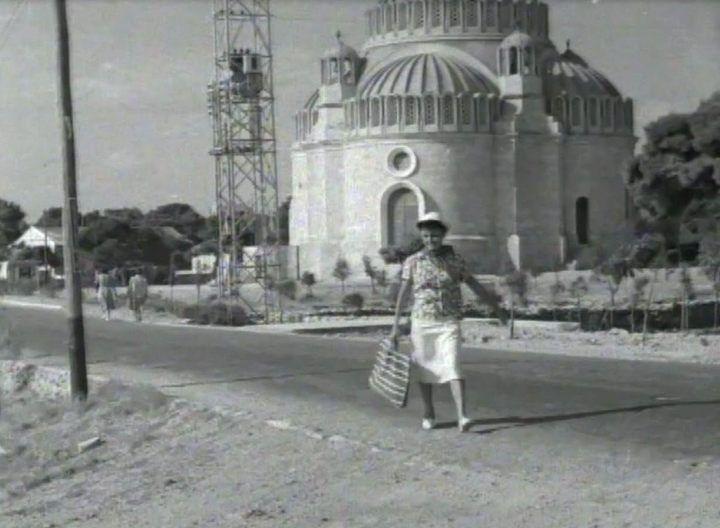 Γυρίσματα στη Γλυφάδα για ταινία ελληνικής παραγωγής του 1951