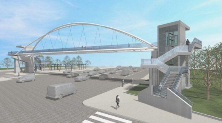 Το Σάββατο τοποθετείται η πεζογέφυρα Παλαιού Φαλήρου
