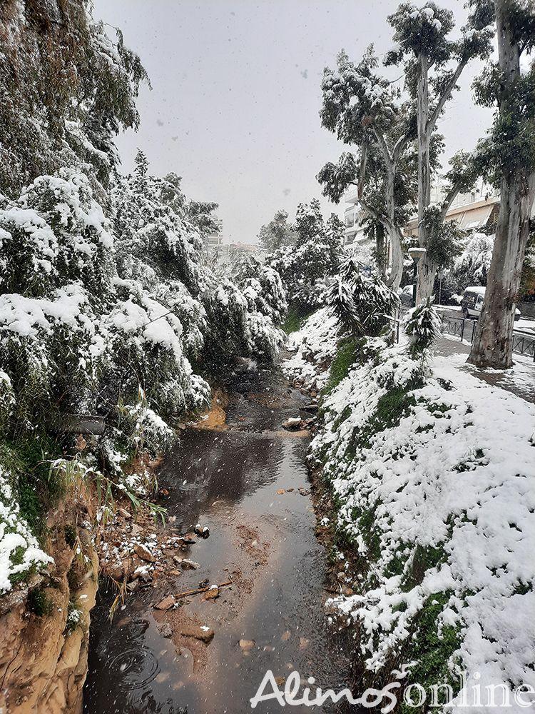 Το ρέμα της οδού Αγίου Δημητρίου όπως δεν το έχουμε ξαναδεί