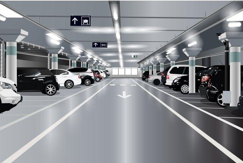 Ένα υπόγειο πάρκινγκ στο Παλαιό Φάληρο