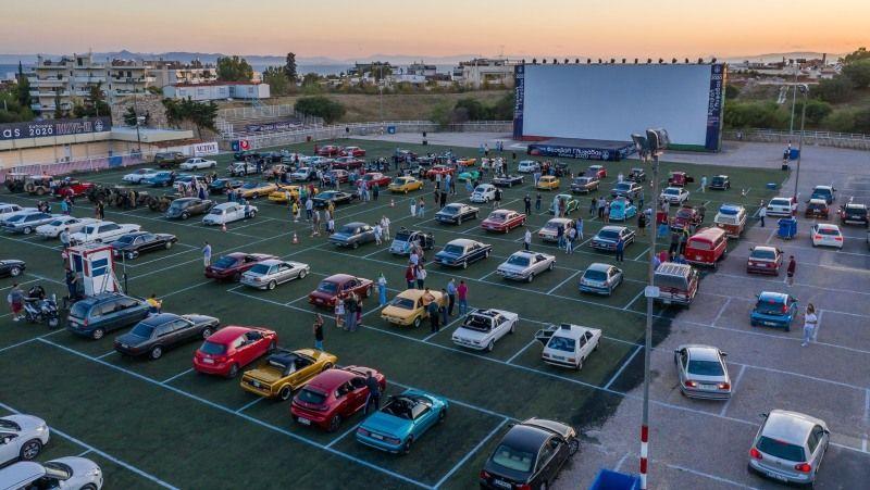 Ο Δήμος Γλυφάδας βραβεύτηκε για το Drive-in Festival
