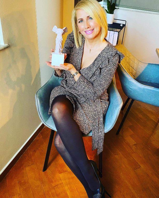 Βραβεύτηκε η Αλιιώτισσα Κατερίνα Παπακωστοπούλου με το βραβείο «Greek Top Women Awards»