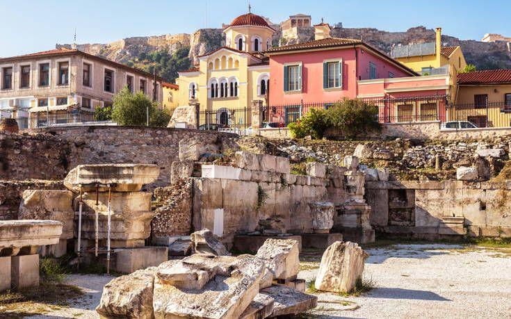 Τι θα έλεγες για μία διαδικτυακή βόλτα στην ιστορία και τις γειτονιές της Αθήνας;