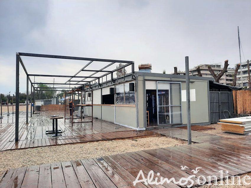 Ένα νέοcafébarετοιμάζεται στην παραλία Αλίμου