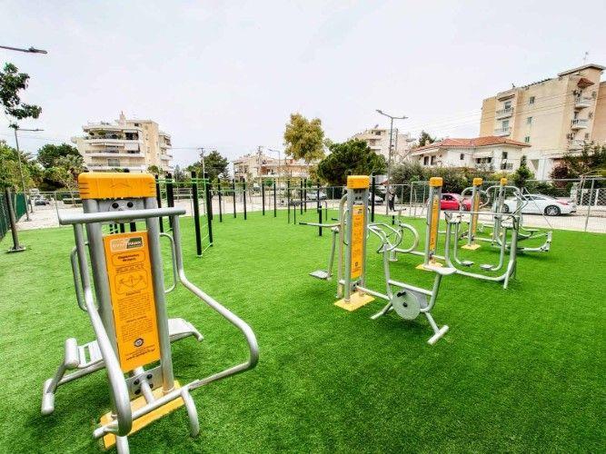 H Γλυφάδα παρουσιάζει το νέο, υπερσύγχρονο υπαίθριο γυμναστήριό της