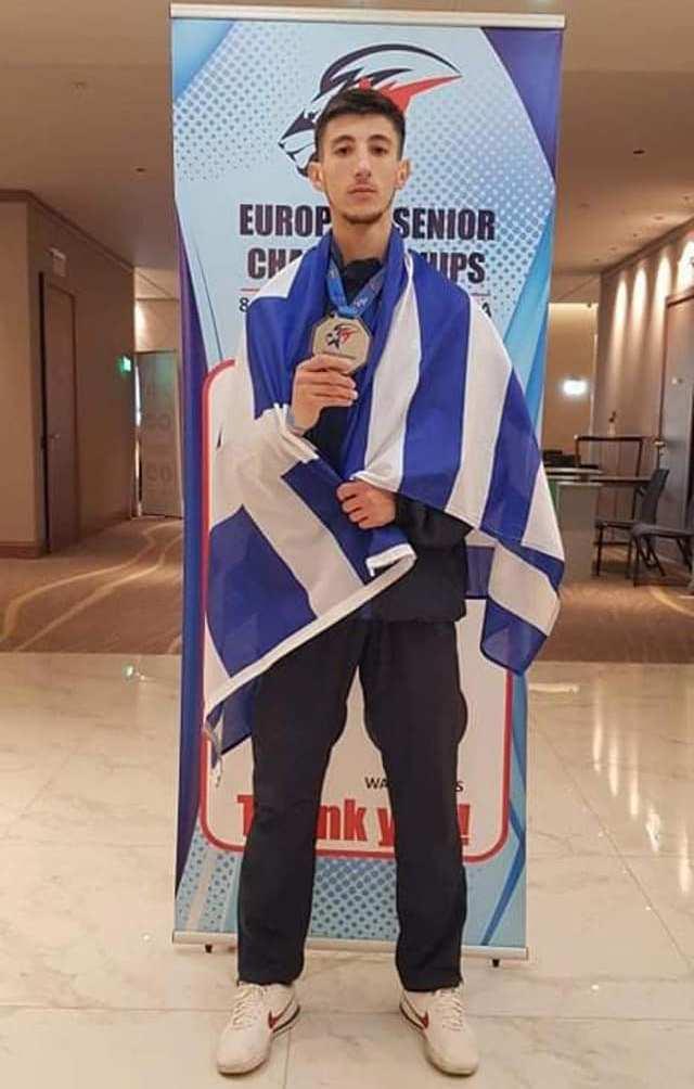 Ασημένιος πρωταθλητής Ευρώπης ο Αλιμιώτης Διονύσης Ραψομανίκης