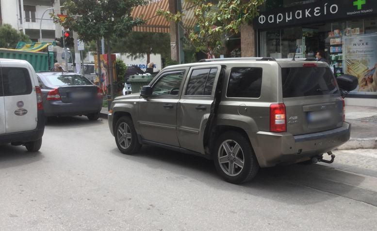 Τροχαίο ατύχημα έγινε σήμερα στη Θουκυδίδου