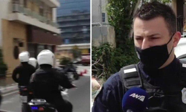 Σε 6 λεπτά μετέφεραν οι αστυνομικοί τον 4χρονο από το Παλαιό Φάληρο στο νοσοκομείο Αγλαΐα Κυριακού