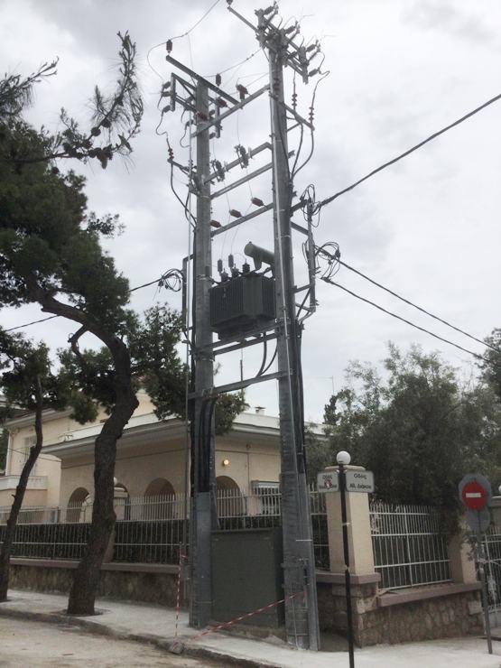 Επιστολή από αναγνώστη για τον νέο υποσταθμό της ΔΕΗ στην οδό Θουκυδίδου