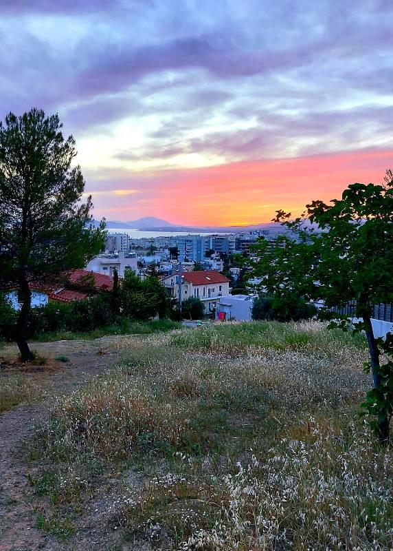 Golden hour στον λόφο Πανί