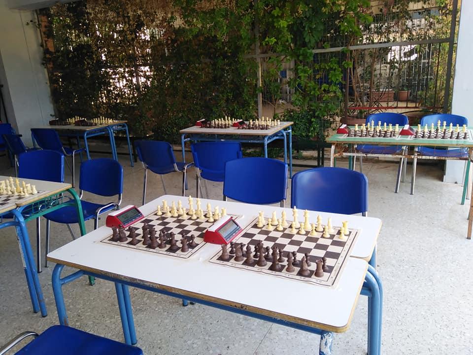 Mε επιτυχία διεξήχθη το 1ο Μαθητικό Πρωτάθλημα Σκάκι του 4ου Γυμνασίου Αλίμου