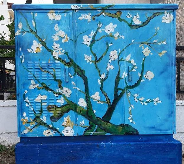 Τα «Άνθη Αμυγδαλιάς» του Βίνσεντ Βαν Γκογκ, σε ΚΑΦΑΟ του Αλίμου