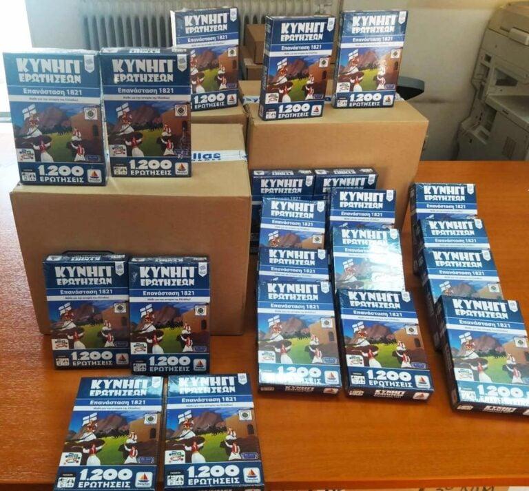 Επιτραπέζιο παιχνίδι δώρισε ο Δήμος Αλίμου στους μαθητές των δημοτικών σχολείων