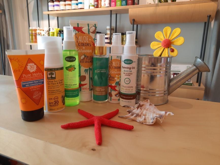 Ολοκληρωμένη προστασία από τον ήλιο για το δέρμα και τα μαλλιά σου από το «Natans»