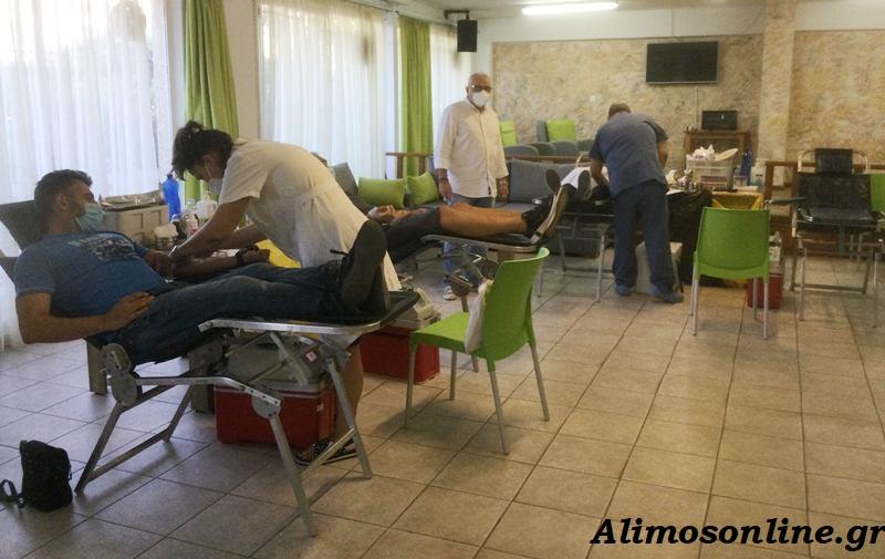 Σήμερα και αύριο η εθελοντική αιμοδοσία του Δήμου Αλίμου