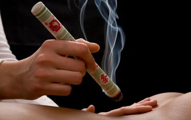 Το Masaji παρουσιάζει την θερμοθεραπεία Moxa
