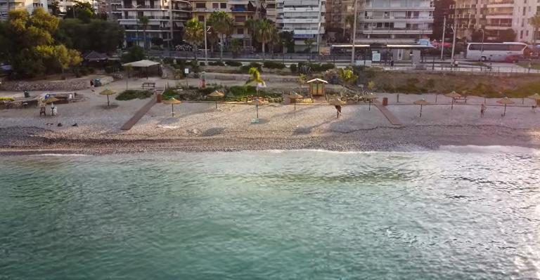Αναβαθμίζονται οι παραλίες του Παλαιού Φαλήρου