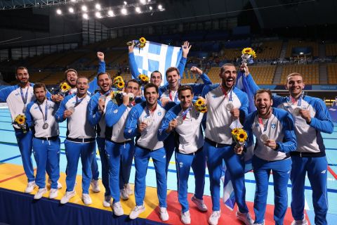 Το (μόνο) καλό νέο της ημέρας: Ασημένιο μετάλλιο για την Εθνική Ομάδα Πόλο στους Ολυμπιακούς Αγώνες