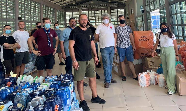 Τέταρτη αποστολή βοήθειας του Αλίμου προς τους πυρόπληκτους – Η δήλωση του Ανδρέα Κονδύλη