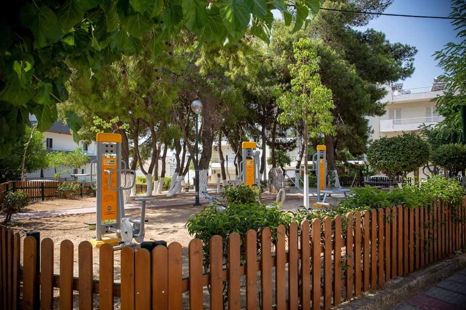 Άγιος Δημήτριος : Nέο ανοιχτό υπαίθριο γυμναστήριο