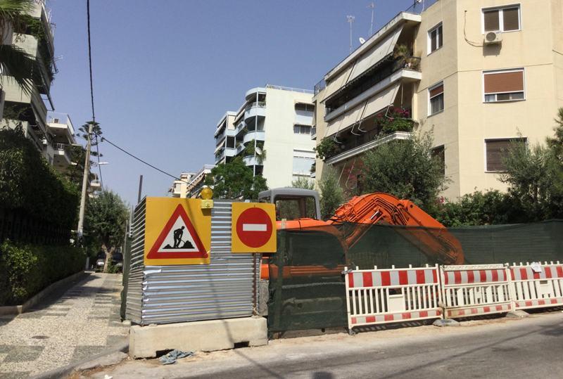Η ενημέρωση του Ανδρέα Κονδύλη σχετικά με το αντιπλημμυρικό έργο της οδού Κανάρη