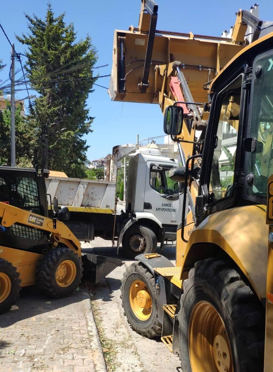 Αναστολή λειτουργίας του τμήματος περισυλλογής κλαδιών του Δήμου Ελληνικού Αργυρούπολης λόγω θετικών κρουσμάτων