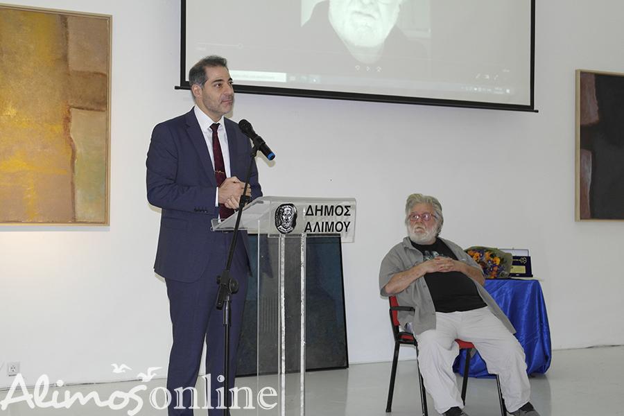 Επίτιμος δημότης Αλίμου ο Μάκης Θεοφυλακτόπουλος