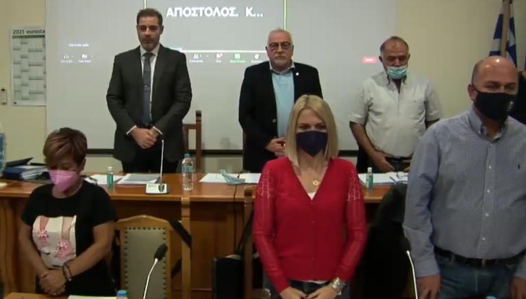 Ενός λεπτού σιγή τηρήθηκε στο Δημοτικό Συμβούλιο για τον Ιωσήφ Κωνσταντινίδη