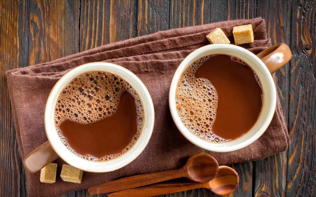 Μία ζεστή σοκολάτα από τον «Karpo» είναι ό,τι πρέπει γι' αυτή τη μουντή ημέρα