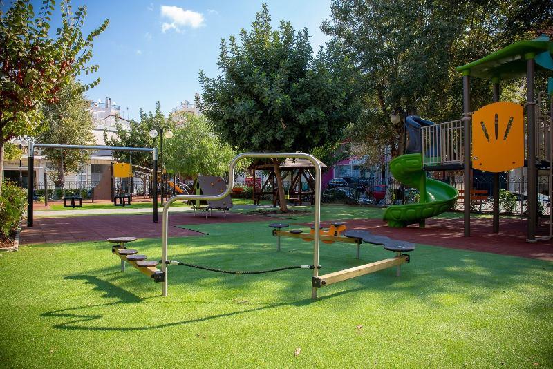 Ανακαινίστηκαν δύο Παιδικές Χαρές του Δήμου Αγίου Δημητρίου