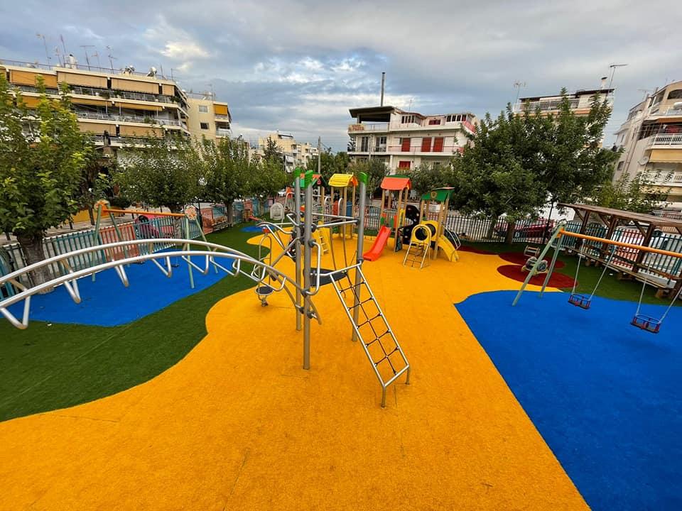 Η νέα, πολύχρωμη, Παιδική Χαρά της Αργυρούπολης